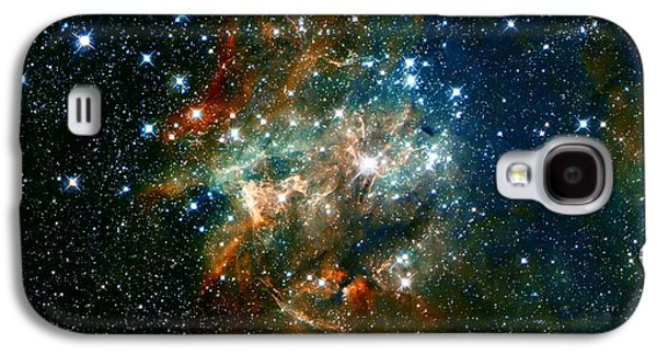 The Heavens Galaxy S4 Cases - Deep Space Star Cluster Galaxy S4 Case by The  Vault - Jennifer Rondinelli Reilly