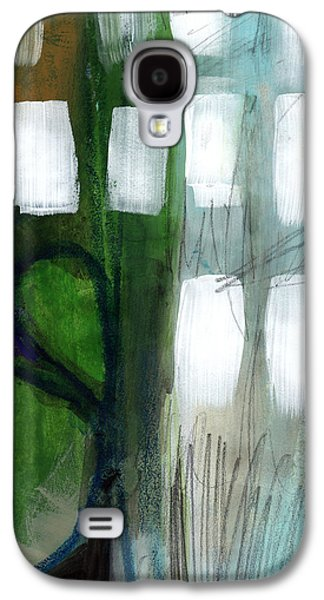 Green Galaxy S4 Cases - Deeper Meaning Galaxy S4 Case by Linda Woods