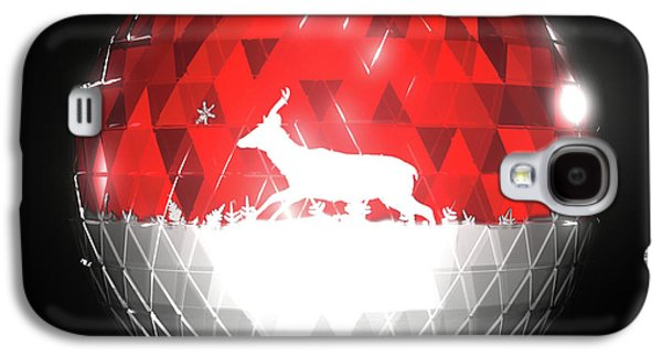 Animation Galaxy S4 Cases - Deer Bauble - Frame 10 Galaxy S4 Case by Jules Gompertz