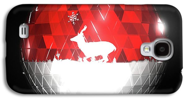 Animation Galaxy S4 Cases - Deer Bauble - Frame 103 Galaxy S4 Case by Jules Gompertz