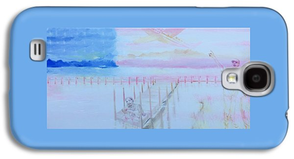 Jay Z Paintings Galaxy S4 Cases - Deferred Dreams Galaxy S4 Case by Lauren Livingston