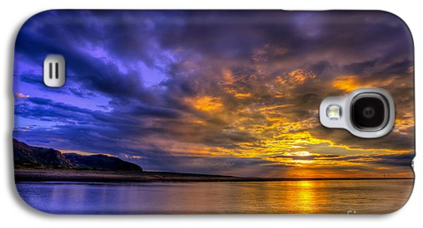 Hdr Landscape Galaxy S4 Cases - Deganwy Sunset Galaxy S4 Case by Adrian Evans