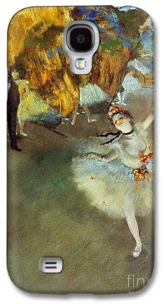 Entertainment Galaxy S4 Cases - Degas: Star, 1876-77 Galaxy S4 Case by Granger
