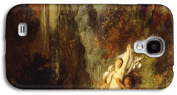 Dejanira  Autumn Galaxy S4 Case by Gustave Moreau