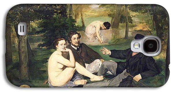 Dejeuner Sur L Herbe Galaxy S4 Case by Edouard Manet