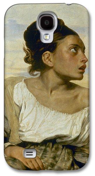Delacroix Galaxy S4 Cases - Delacroix: Orphan, 1824 Galaxy S4 Case by Granger