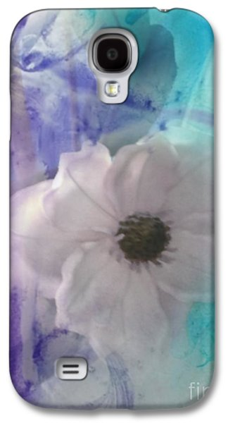 Abstract Digital Drawings Galaxy S4 Cases - Delicate Beauty Galaxy S4 Case by TLynn Brentnall