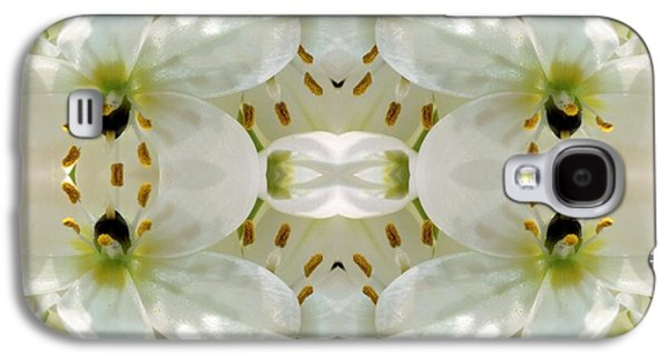 Nature Abstract Tapestries - Textiles Galaxy S4 Cases - Delicate Dreamings Galaxy S4 Case by Suzi Freeman