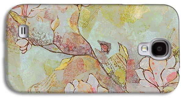 Delicate Magnolias Galaxy S4 Case by Shadia Derbyshire
