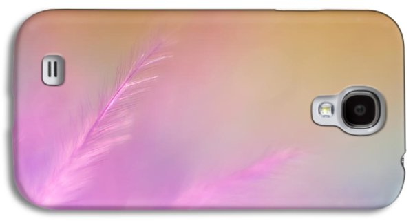 Delicate Pink Feather Galaxy S4 Case by Scott Norris
