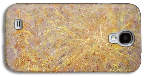4th July Paintings Galaxy S4 Cases - Delight Galaxy S4 Case by Anna Starkova