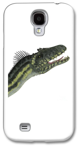 Northern Africa Galaxy S4 Cases - Deltadromeus Dinosaur Head Galaxy S4 Case by Corey Ford