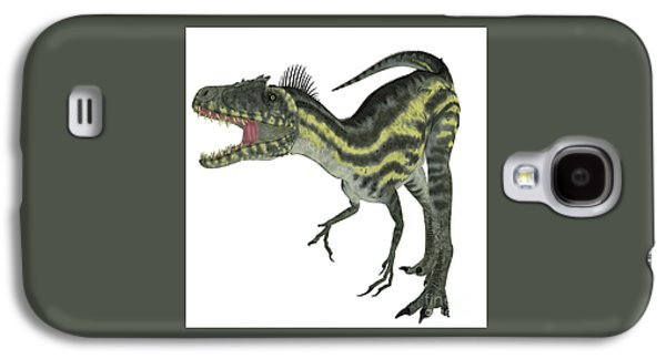 Northern Africa Galaxy S4 Cases - Deltadromeus on White Galaxy S4 Case by Corey Ford