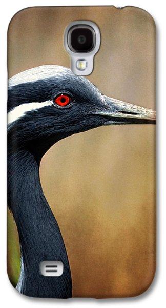 Demoiselles Galaxy S4 Cases - Demoiselle Crane Galaxy S4 Case by Al  Mueller