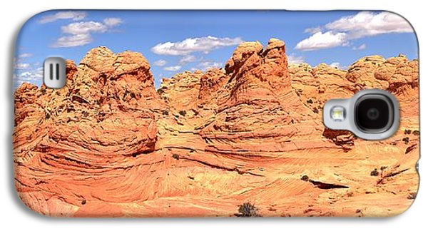 Surreal Landscape Galaxy S4 Cases - Desert Dreamland Panorama Galaxy S4 Case by Adam Jewell