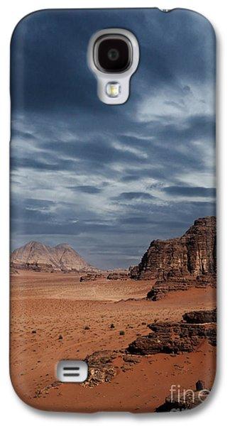 Stormy Weather Galaxy S4 Cases - Desert Galaxy S4 Case by Jelena Jovanovic