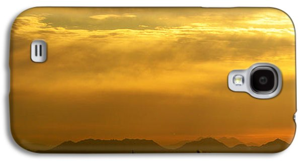 Abstract Digital Paintings Galaxy S4 Cases - Desert Sunrise Surprise Arizona Photo Galaxy S4 Case by Barbara Snyder