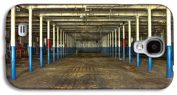 Glass Wall Galaxy S4 Cases - Deserted After Cotton Was King the Mary Leila Cotton Mill 1899 Galaxy S4 Case by Reid Callaway
