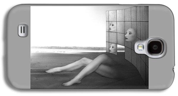 Dreamscape Galaxy S4 Cases - Desolate - Self Portrait Galaxy S4 Case by Jaeda DeWalt