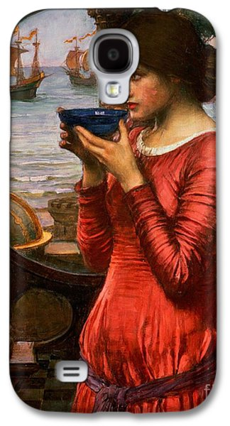 Columns Galaxy S4 Cases - Destiny Galaxy S4 Case by John William Waterhouse