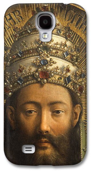Detail Of God The Father Galaxy S4 Case by Van Eyck