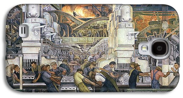 Detroit Industry   North Wall Galaxy S4 Case by Diego Rivera