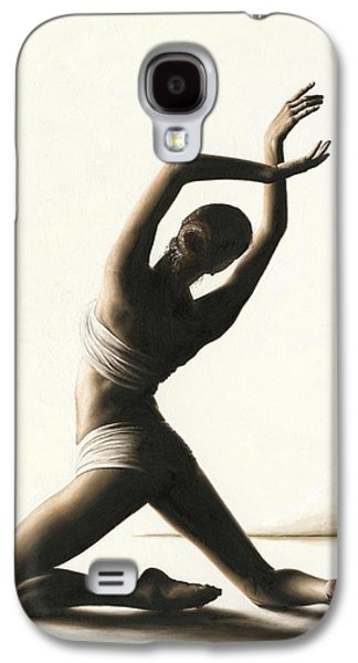 work Paintings Galaxy S4 Cases - Devotion to Dance Galaxy S4 Case by Richard Young