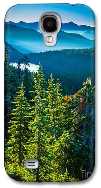 Strong America Galaxy S4 Cases - Dewey Lake Galaxy S4 Case by Inge Johnsson