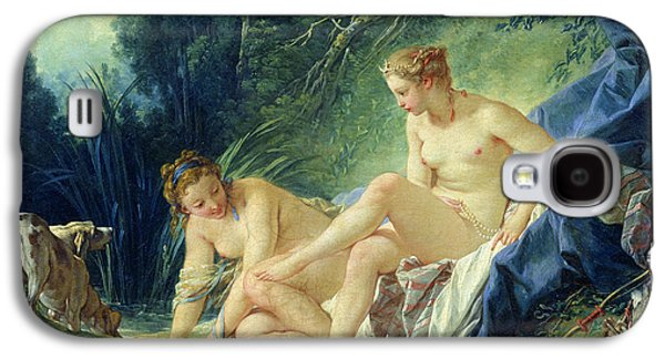 Diana Getting Out Of Her Bath Galaxy S4 Case by Francois Boucher