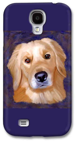 Dogs Digital Art Galaxy S4 Cases - Did Someone Say Walk? Galaxy S4 Case by Tim Tompkins