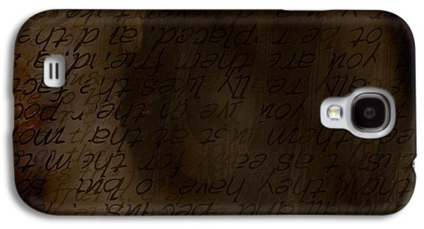 Secret Whispers Photographs Galaxy S4 Cases - Different Dialects Galaxy S4 Case by Vicki Ferrari