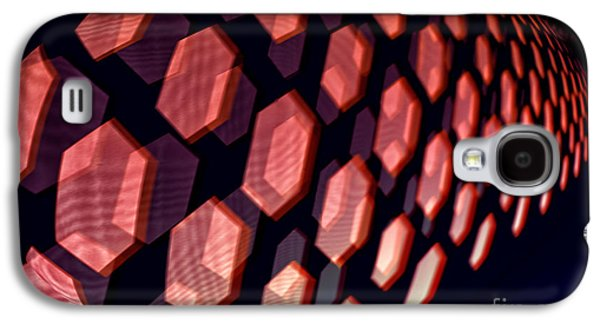 Abstract Digital Photographs Galaxy S4 Cases - Digital Armadillo Galaxy S4 Case by George Oze
