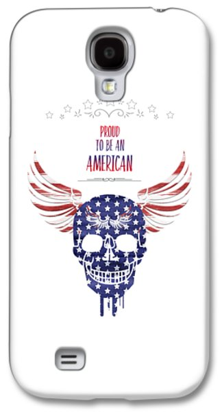 Digital-art Patriotism Galaxy S4 Case by Melanie Viola