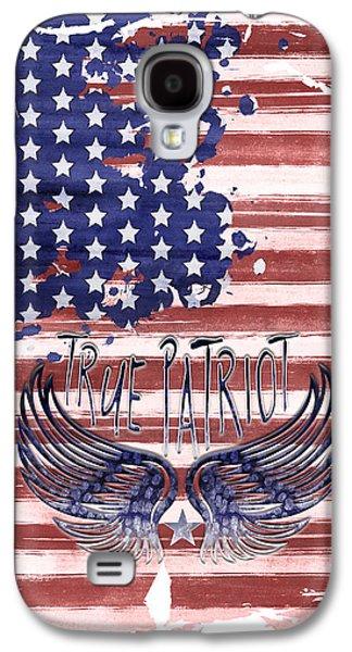 Digital-art True Patriot Galaxy S4 Case by Melanie Viola