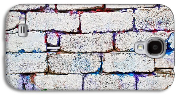 Weed Line Galaxy S4 Cases - Dilapidated brick wall Galaxy S4 Case by Tom Gowanlock