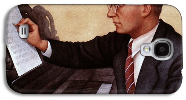 Pianist Photographs Galaxy S4 Cases - Dimitri Shostakovich Galaxy S4 Case by Granger