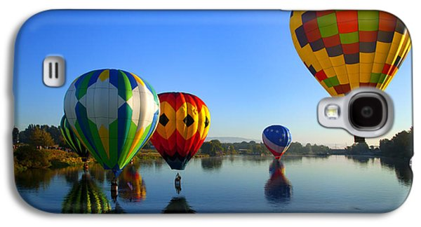 Hot Air Balloon Galaxy S4 Cases - Dip and Go Galaxy S4 Case by Mike  Dawson