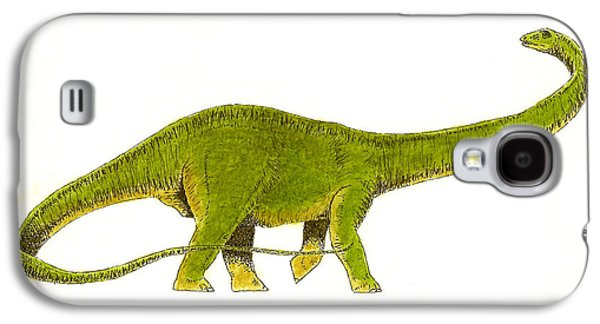 Diplodocus Galaxy S4 Case by Michael Vigliotti