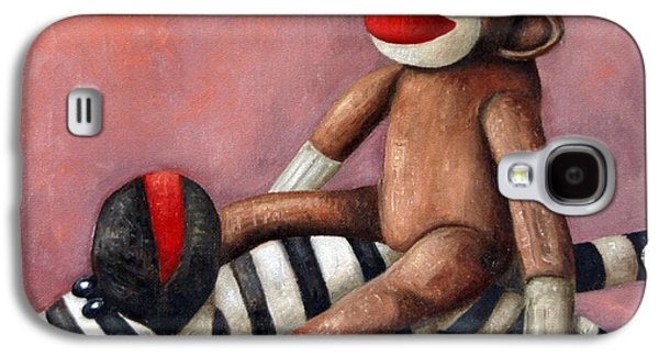Dirty Socks 3 Playing Dirty Galaxy S4 Case by Leah Saulnier The Painting Maniac