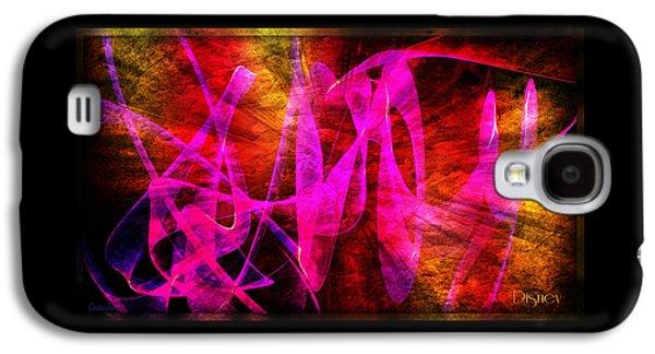 Animation Galaxy S4 Cases - Disney Galaxy S4 Case by Christina Trevino
