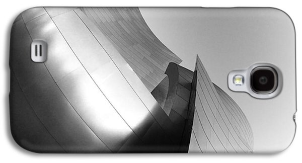 Metal Sheet Galaxy S4 Cases - Disney Concert Hall California 25 Galaxy S4 Case by Micah May