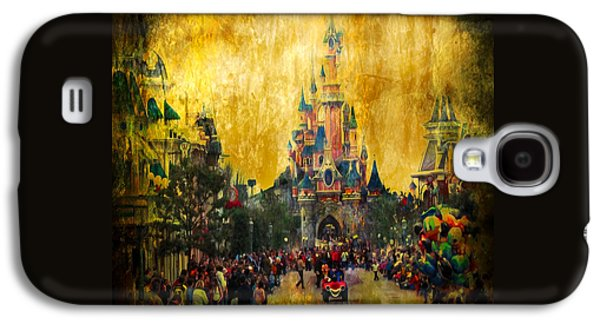 Disney World Galaxy S4 Case by Svetlana Sewell