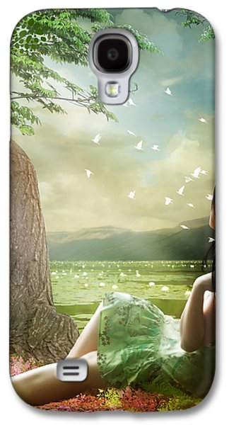 Thought Galaxy S4 Cases - Distant Horizons Galaxy S4 Case by Karen H