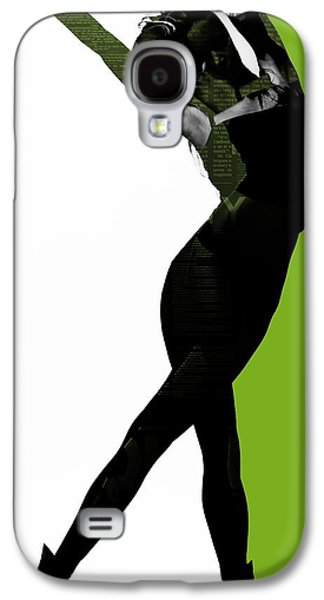 Relationship Galaxy S4 Cases - Divided Galaxy S4 Case by Naxart Studio