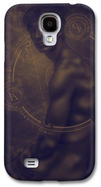 Divine Light Of Seraphim Galaxy S4 Case by Damir Martic