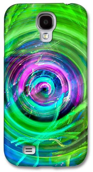 Landmarks Photographs Galaxy S4 Cases - DJ Prehistoric  Galaxy S4 Case by Az Jackson