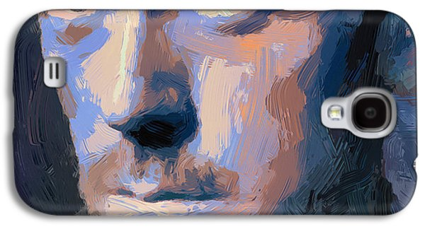 Abstract Nature Galaxy S4 Cases - Doctor Gregory House 2 Galaxy S4 Case by Yury Malkov