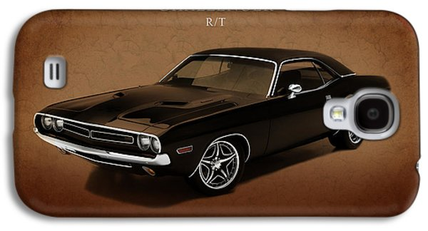 Challenger Galaxy S4 Cases - Dodge Challenger RT Galaxy S4 Case by Mark Rogan