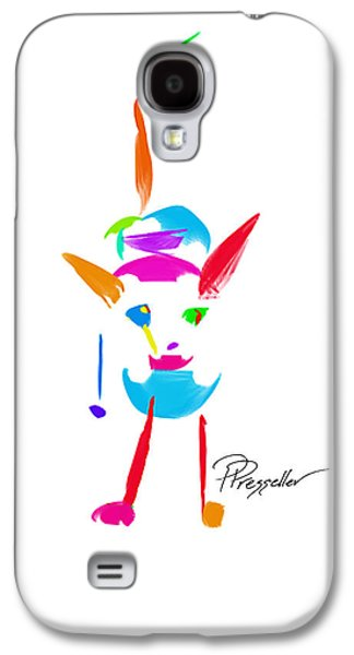 Puppies Galaxy S4 Cases - Dog Days II Galaxy S4 Case by Patricia Presseller
