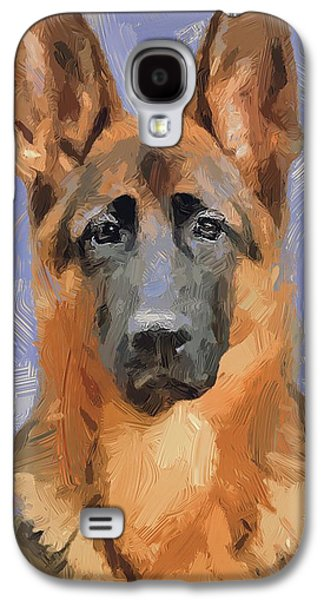 Abstract Nature Galaxy S4 Cases - Dog Freedom Galaxy S4 Case by Yury Malkov